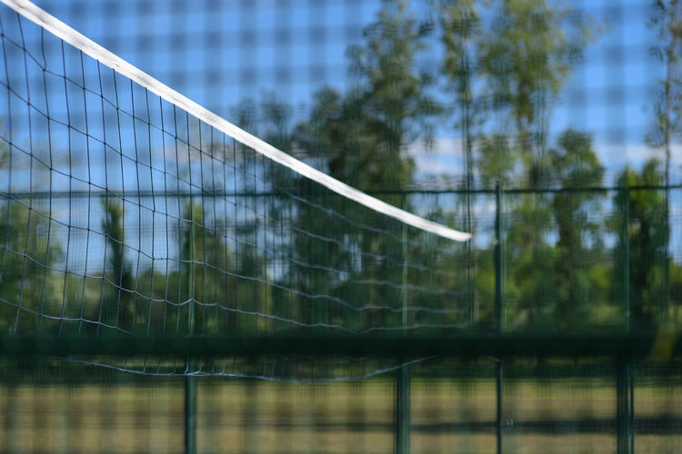 Volleyball net and playground Play Time Activity Barrier Cage Caged Focus On Foreground Game Leisure Activity Net Net - Sports Equipment Play Playground Playing Field Safety Sport Sports Volleyball Volleyball Net