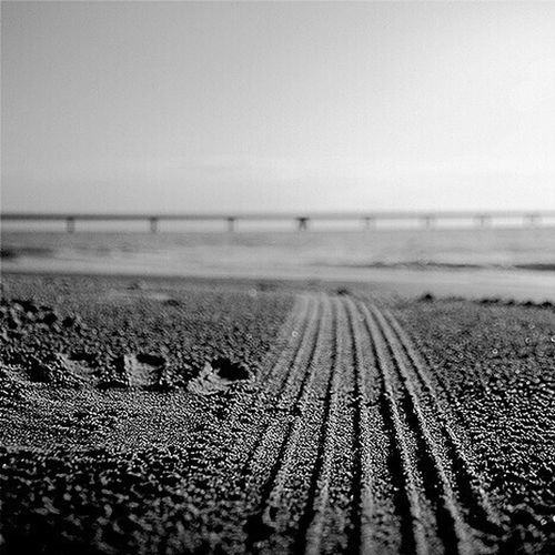 Vada Spiaggebianche Sea Diquattro Marcodiquattro Black And White Friday