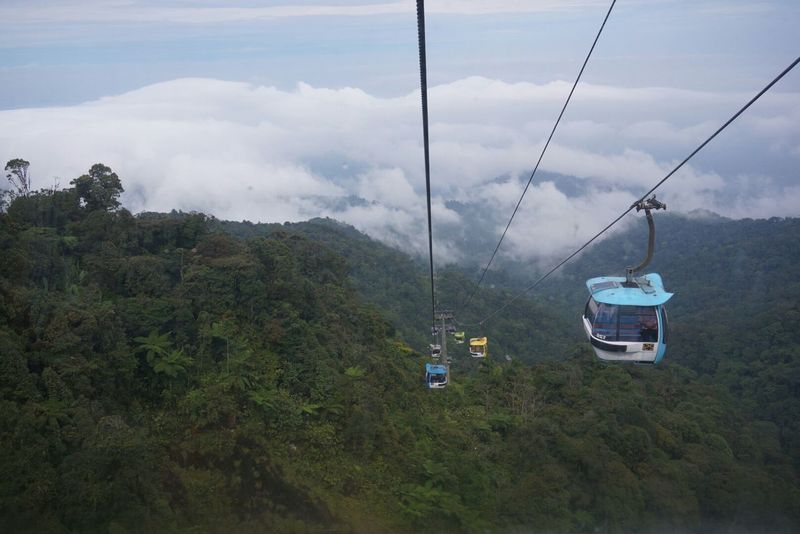Malaysia Genting Hotel Cable Car Awsome View No Filter