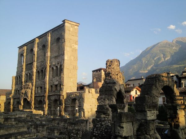 Aosta Travel Photography Popular Photos History Built Structure Architecture Old Ruin The Past Ancient Building Exterior Day Mountain Ancient Civilization No People Outdoors Sky Femalephotographerofthemonth Transportation 43GoldenMoments Taking Photos Travel Destinations Teatro Sunlight Archaeology Ancient Travel
