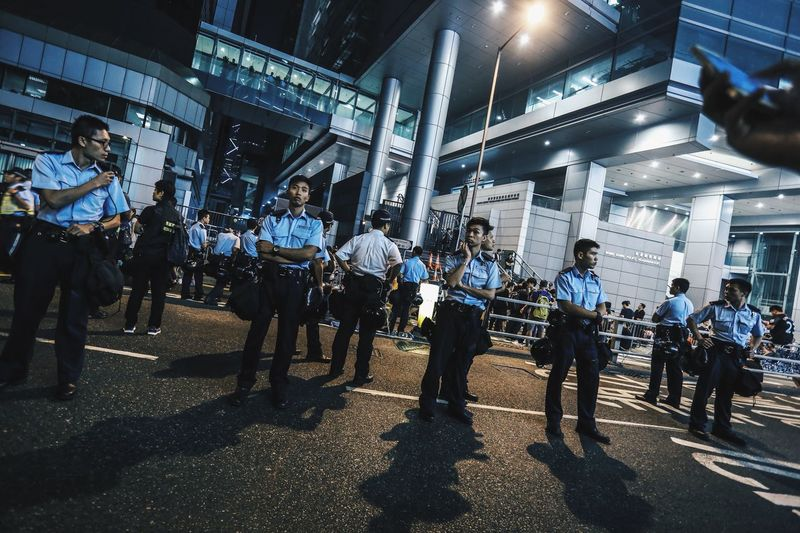 Civil disobedience involving mass sit-in street protests occurred in Hong Kong from 26 September to 15 December 2014. Commonly known as Occupy Central (佔中), also Umbrella Revolution and sometimes interchangeably Umbrella Movement. (Sources from Wikipedia) Cityscapes Documentary Eye4photography  EyeEm Best Shots Fighting For Freedom HongKong Hongkonger Moments Protest Revolution Showcase: November Student Umbrella Umbrella Revolution Urban What We Revolt Against Wish
