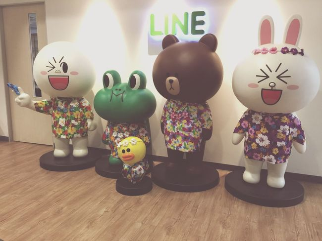 Brown Cony Moon Sally LINE Linefriends