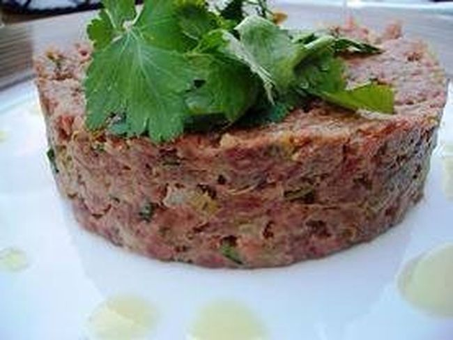 Steak tartare Enjoying A Meal In My Mouf Gastronomy Gastronomía Gastronomie Food Professionalcook Chef