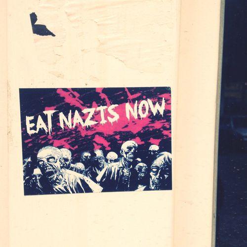 Eat Nazis now Zombies