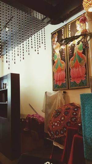 今天吃印度料理👳新竹市金山23街69號 Indoors  Multi Colored Illuminated Bedroom No People Postcard Clock Fame Day