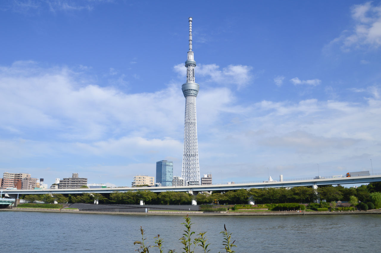 Tokyo Skytree Tower In Japan Japan Japan Photography Japanese  Japanese Food Tokyo Tokyo Street Photography Tokyo,Japan Architecture Blue City No People River Sky Skytree Sumidariver Tall Tall - High Tallest Tourism Tower Travel Destinations