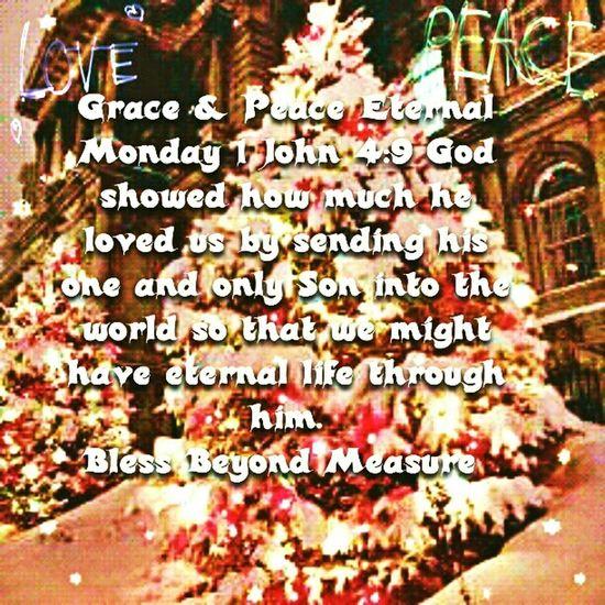 Grace & Peace Eternal Monday