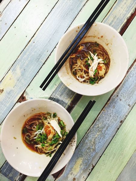 Thai Food Foodphotography Delicious Small Potion Noodle Two