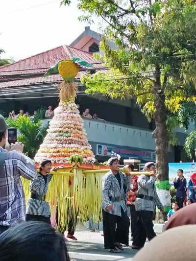 Only the gentle are ever really strong. - James Dean. Men Tree Real People Architecture Celebration Outdoors INDONESIA Carnaval