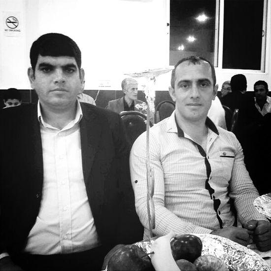 My friend Mr Mahmod in gold nights restaurant