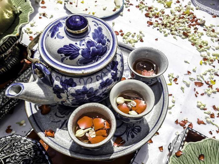 tea set Food