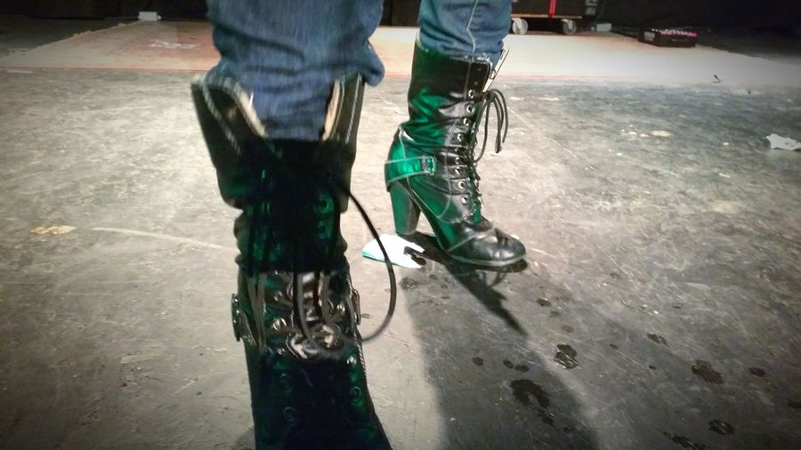 Concert Shoes Boots Stage