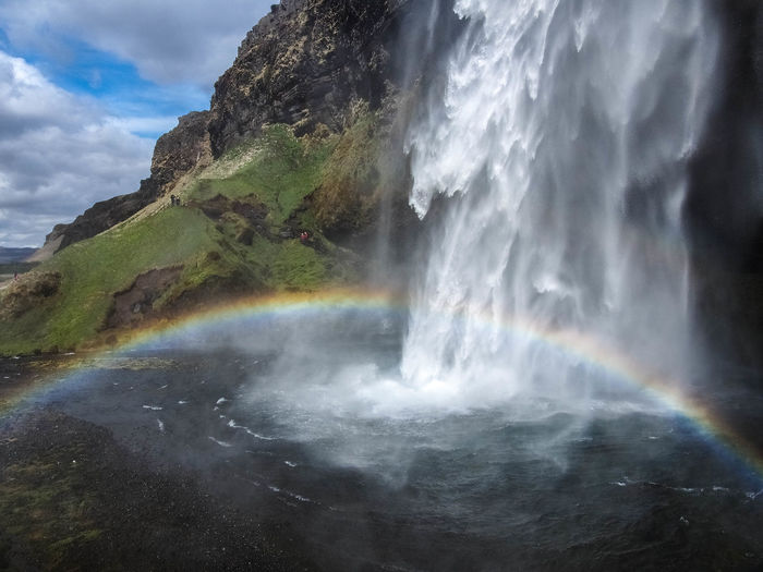 Waterfall Scenics Beauty In Nature Power In Nature Landscape Nature_collection EyeEmNewHere Rainbow