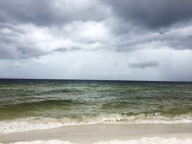 Storms are beautiful. Sea Horizon Over Water Cloud - Sky Water Nature Beach No People Outdoors Day Summer