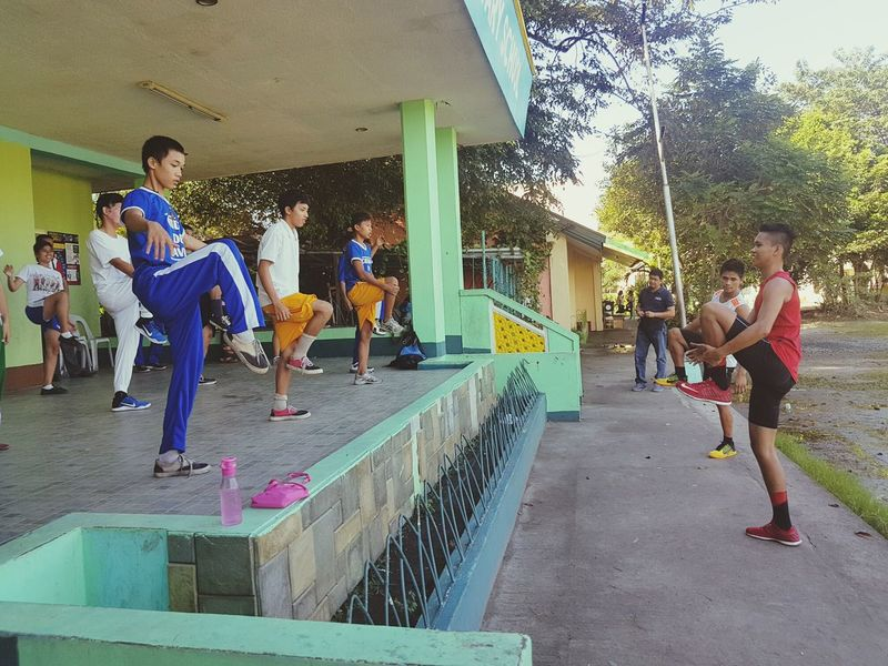 Sport Specialchildren Children with disabilities on their training.