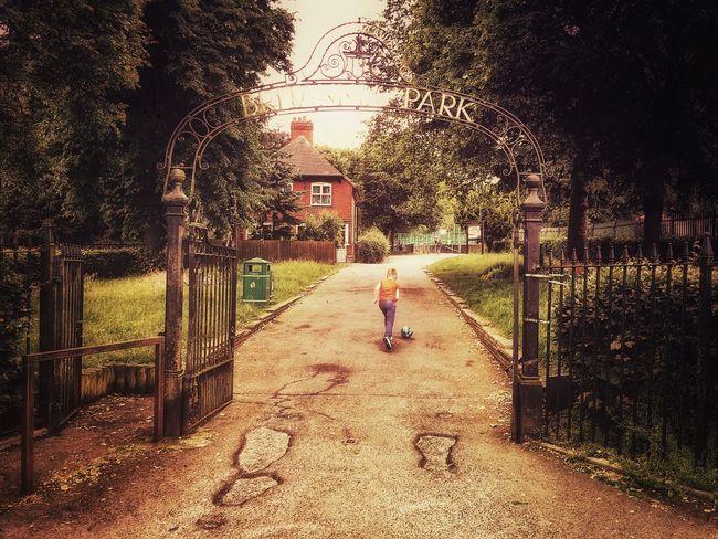 Parklife... Parklife Park Entrance Entrance Gate Rowley Regis Summer Summertime British Summer British Summertime