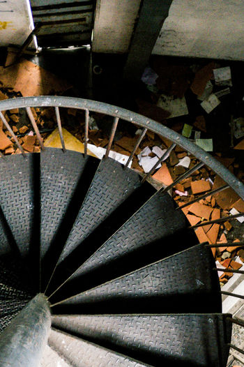 Abandoned Abandoned Buildings Abandoned Places Architectural Feature Backgrounds Close-up Day Diminishing Perspective Désaffecté Engineering Factory Full Frame Metallic Modern No People Order & Chaos Repetition Ruined Building Spiral Stears The Way Forward Urbanphotography Urbex Urbexexplorer Usinedesaffectee