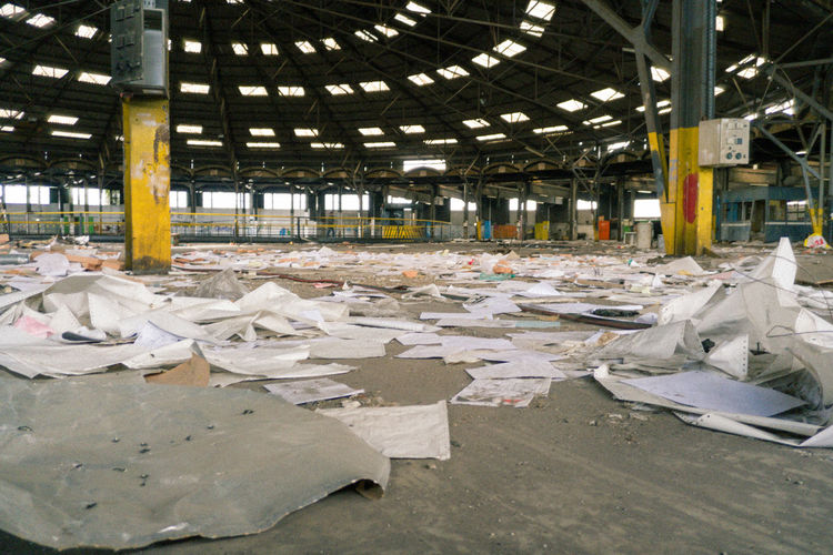 Abandoned Abandoned Buildings Abandoned Places Absence Abundance Architectural Columns Architecture Arrangement Day Dirty Désaffecté Empty Factory Heap Large Group Of Objects Messy No People Order & Chaos Ruin Ruined Building Urbex Urbexphotography Usinedesaffectee