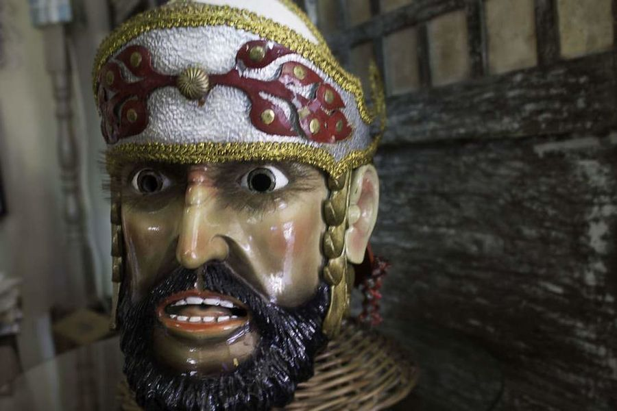 Morion Human Representation Male Likeness Statue No People Indoors  Sculpture Close-up Marinduque,Philippines