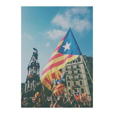 Avui puc dir amb molt d'orgull: VISCA CATALUNYA LLIURE! ✌ Hoy puedo decir con mucho orgullo: VIVA CATALUNYA LIBRE! AraEsLHora 11s2014