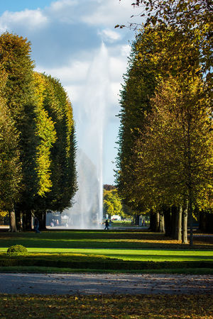 Autumn Walk Afternoon Autumn Day Day Fountain Garden Gardens Germany Nature Outdoors Sunny Tree Walking Water