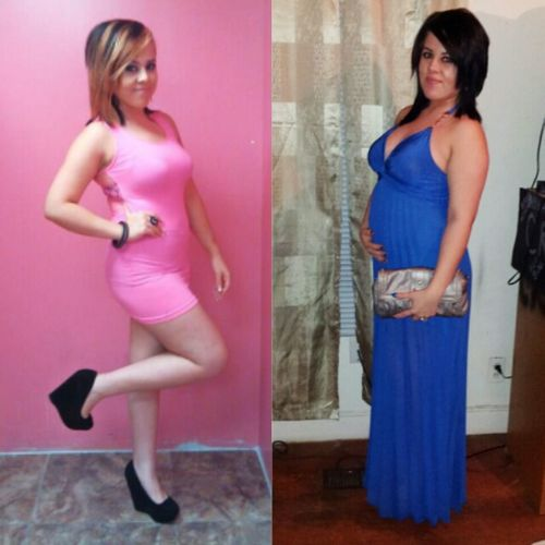Before (party Life) After (pregnant) 14weeks Cant Wait To Meet My Bebe ♥