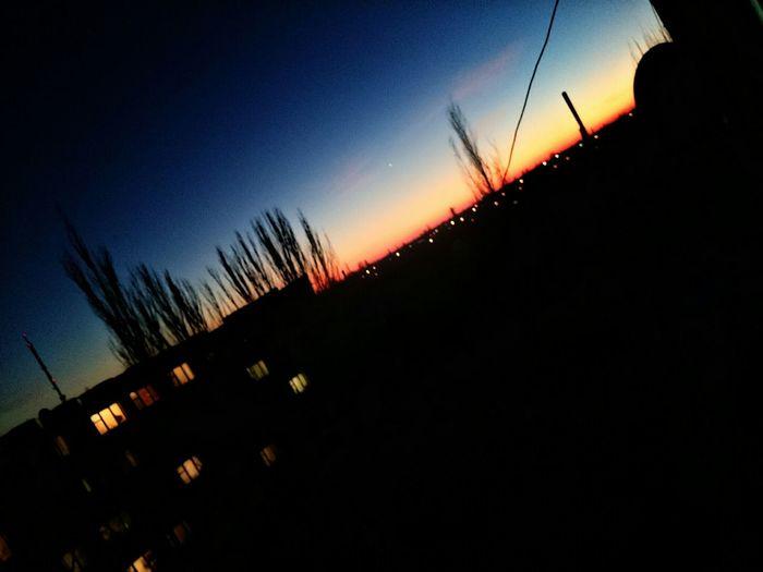 Evning Sky Butiful Sky красивыйвид