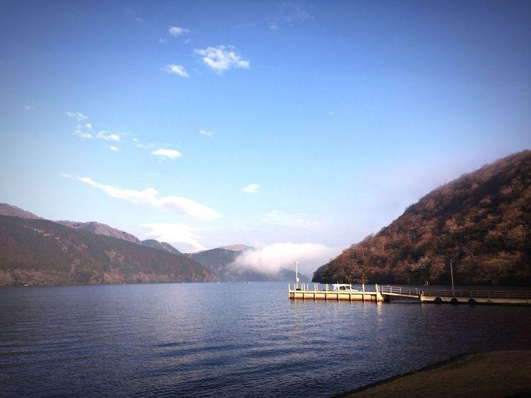 Mt. Fuji Boat On Lake