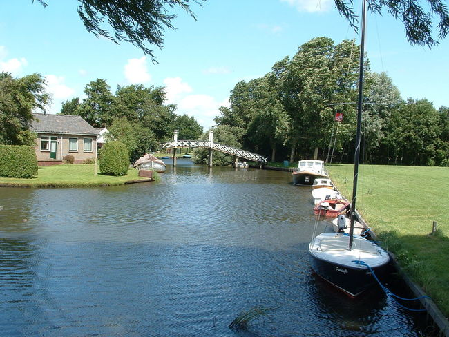 Friesland Hindeloopen Ijsselmeer Netherlands Outdoors