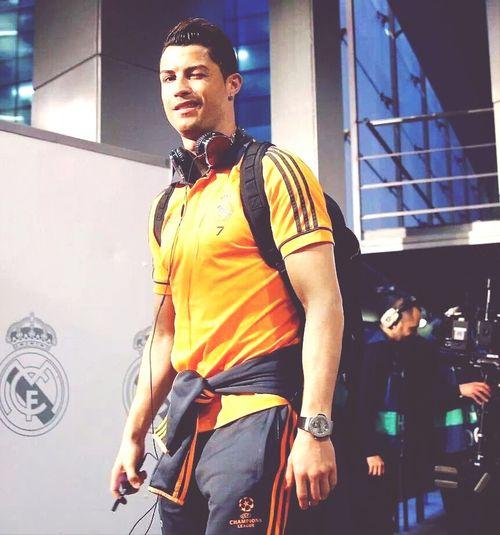 Champions league. Cristiano Ronaldo!