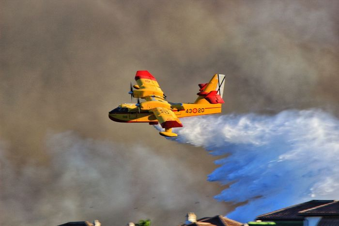 Firefighter Firefighters FireFighting  Firefighters In Action Firefighters. Firefighter Plane Firefighter Plane In Action Bush Fire Water Plane Plane Dropping Water On Fire Yellow Plane Yellow Firefighter Plane Spanish Firefighters Fighting Bush Fires Fire Brigade Spanish Fire Brigade Firefighters In Spain Emergency Services Spanish Emergency Services Paint The Town Yellow