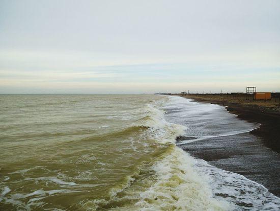 Sea Blacksea Crimea Крым Hello World закат🌇 новофедоровка умиротворение красиво Море