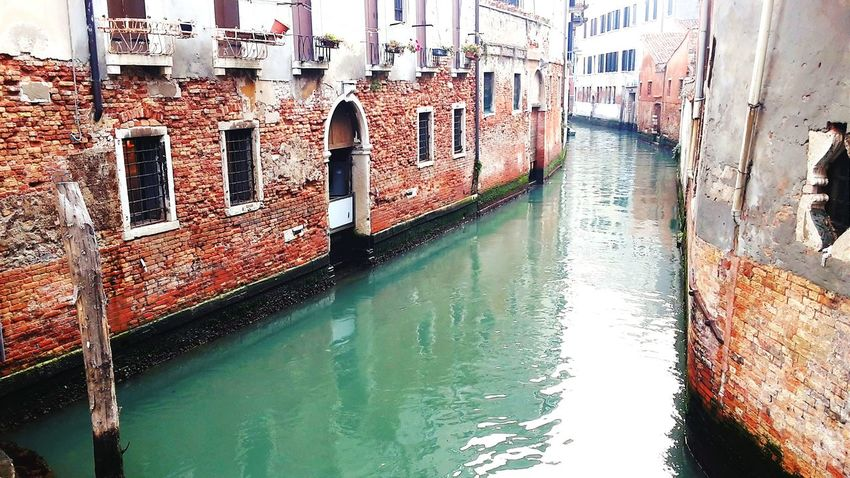 Travelling Travel River Venice, Italy Venice View Venice Italy Weekend Water Brick Wall
