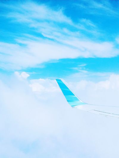 Pastel Power Catching A Flight View From An Airplane Blue Wave On The Way Color Palette Colour Of Life