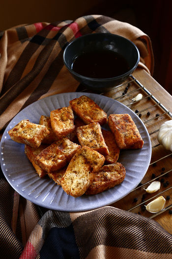 crispy fried tofu Food Food And Drink Snacks! Snack Time! Meal Lunch Breakfast Dinner Dish Cuisine Asianfood Filipino Food Tofu Fried Fried Food Fried Tofu Tokwa Taste Flavor Ingredient Delicious Healthy Eating Healthy Food Table Close-up Food And Drink