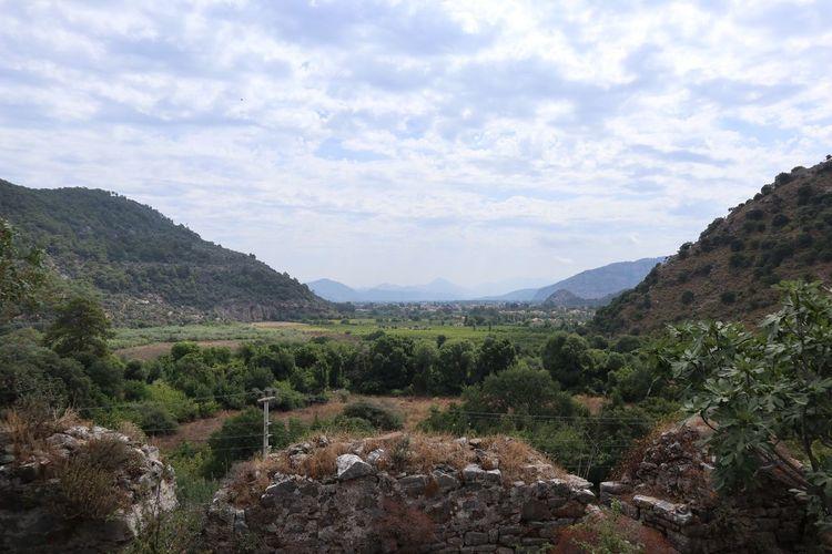 Tlos Plant Cloud - Sky Sky Beauty In Nature Mountain Tree Tranquil Scene Landscape Nature