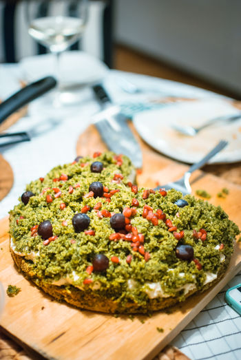 Moss Cake with