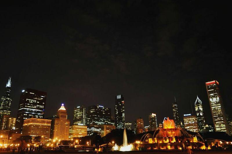 Buckinghamfountain Downtown Chicago