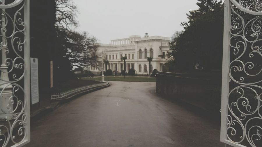 Livadia Palace  Yalta ливадийский дворец ялта Castle No People Tree Architecture Built Structure Day Outdoors Clear Sky Sky