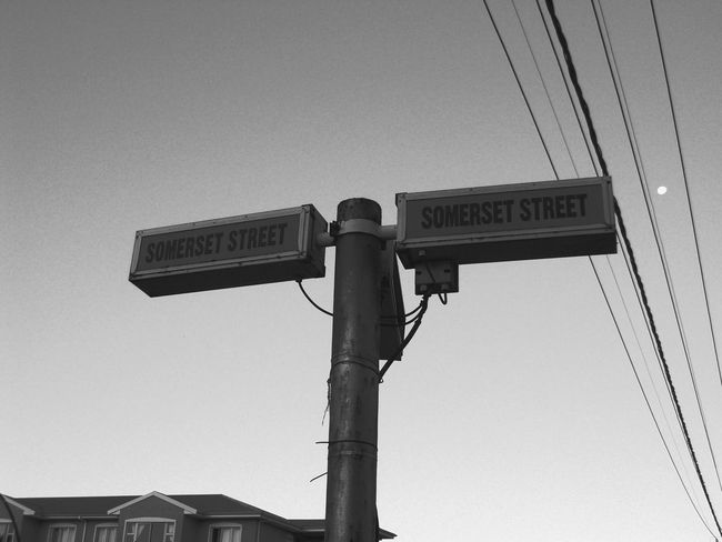 Crossroads Grahamstown South Africa Low Angle View Day Communication Sky No People City