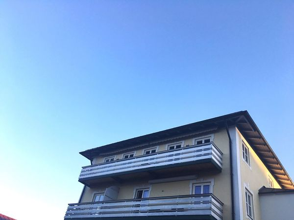 Bavarian City Bad Tölz Architecture Architecture_collection House Bavarian House Architecture Copy Space Built Structure Building Exterior Low Angle View No People Single House Bavaria City House Clear Sky Blue Sky