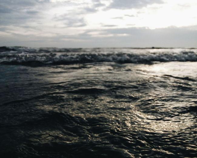 """Soft Tide"" Seascape Sea Shots Close To Waters Simple Nature"