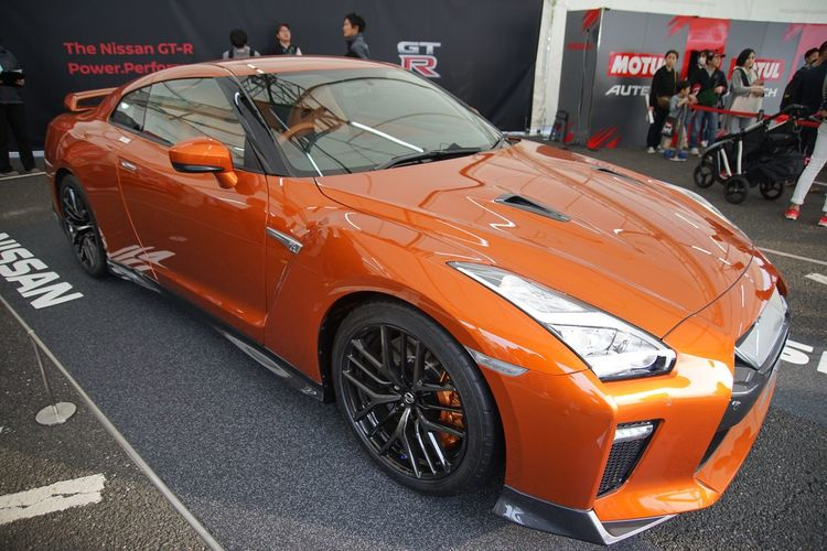 Motor Sport Japan 2016 Nissan GTR 2017 model. Nissan Gt-r Nissan GT-R Motor Sport Car Cars Enjoying Life EyeEm Best Shots Snapshot Taking Photos Walking Around お写ん歩
