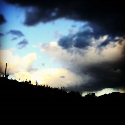 My view on the way up the mountain last night for the sunset over Tucson. Mtlemmon Tucson