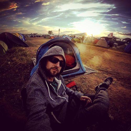 Camping Enjoying Life Sun Festival Sunglasses That's Me Relaxing Viñarock Viñarock2016 First Eyeem Photo The OO Mission