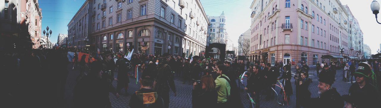 Stpatricksday in Moscow