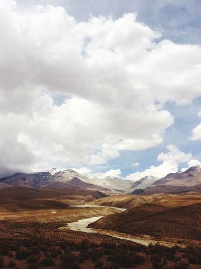 Landscape Mountain No People Cloud - Sky Outdoors Peaceful Chile Nature Photography Cordillera Andina