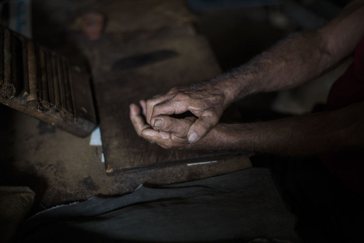 Cigars Close-up Finger Fingers Hand Hands Human Body Part Human Hand Indoors  Lowkey  Men Old Man One Person People Pinar Del Rio Real People