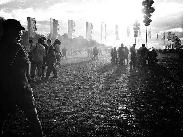 Glastonbury Festival Music Festival Black & White