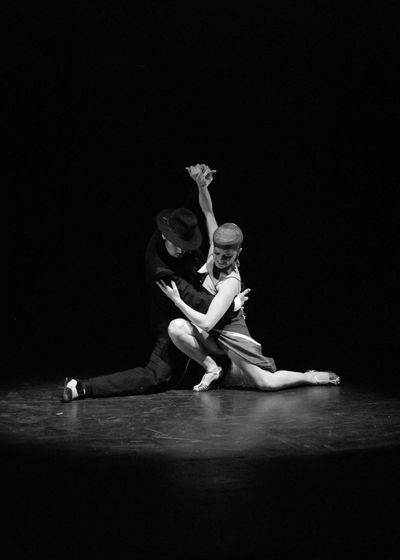 Performance Dancer Performing Arts Event Dancing Artist People Motion Two People Black And White Blanco Y Negro Tango